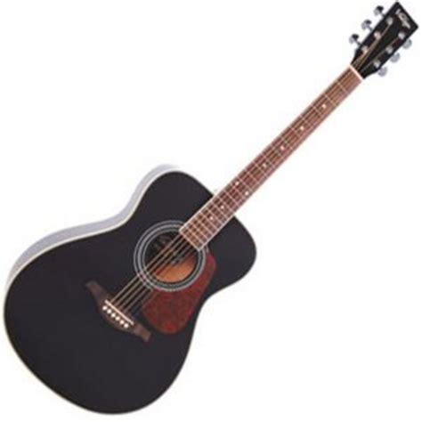 Vintage Guitar Acustic vintage v300 acoustic guitar black at gear4music