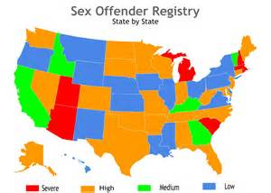 offender registry map the pariahs of america reforming offender laws huffpost