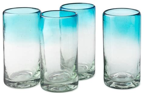 Everyday Glassware Ombr 233 Water Glasses Contemporary Everyday Glasses By