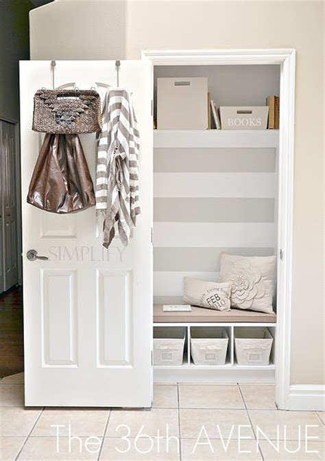 Entryway Closet Ideas by Entryway Closet Transformation Interior Home Design