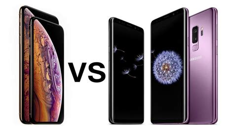 iphone xs vs samsung galaxy s9 tech advisor