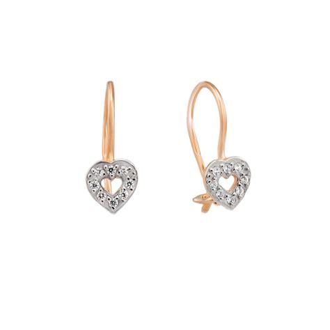 children s earrings shaped gold earrings