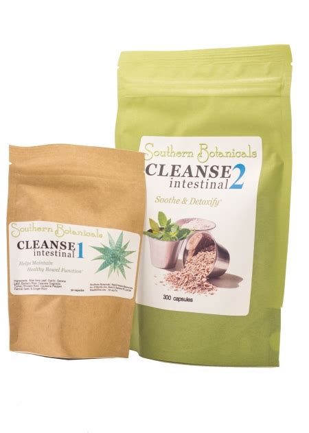 Liver Detox Kit Gnc by Intestinal Cleanse Duo Organic Herbal Intestinal Detox