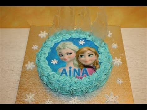 pasteles navideños decorados con chantilly c 243 mo hacer una tarta decorada de frozen youtube