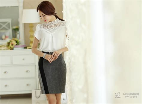 Al49 Blouse Warna Putih blouse warna putih model terbaru 2015 myrosefashion