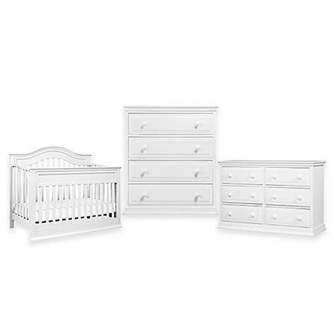 bed bath and beyond oakbrook davinci brook nursery furniture collection in white bed
