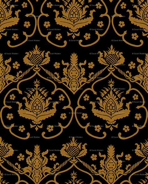 wallpaper pattern gold black black and gold damask wallpaper www pixshark com