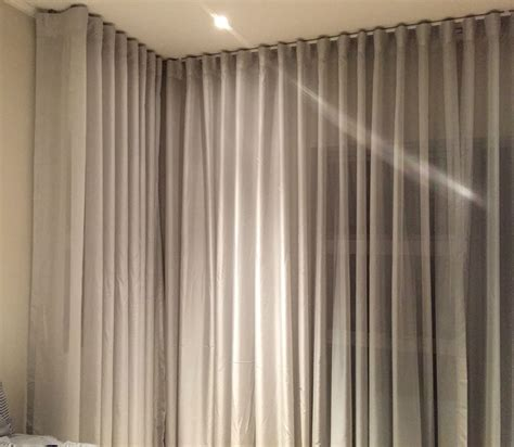 wave curtains wave voile curtain ceiling fix interiors inc