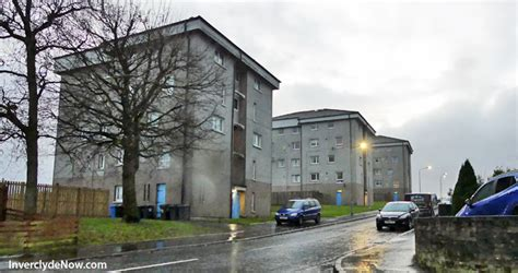 plan submitted for port glasgow housing development