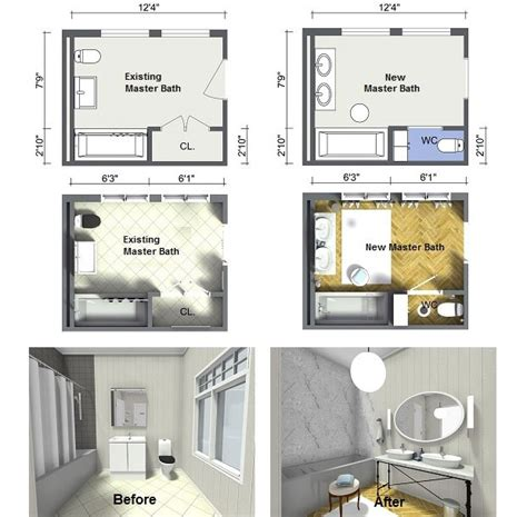 Bathroom Layout Design Tool by Plan Your Bathroom Design Ideas With Roomsketcher