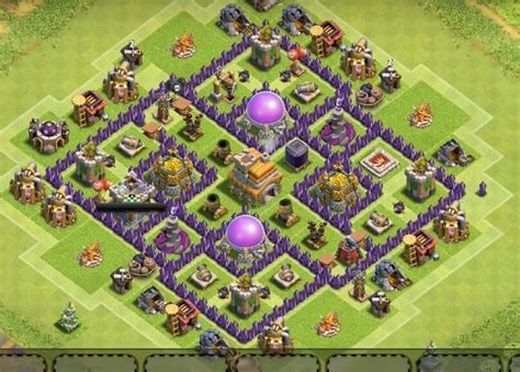 th7 village layout 8 inside town hall farming base layouts for 2016 th7 to th11