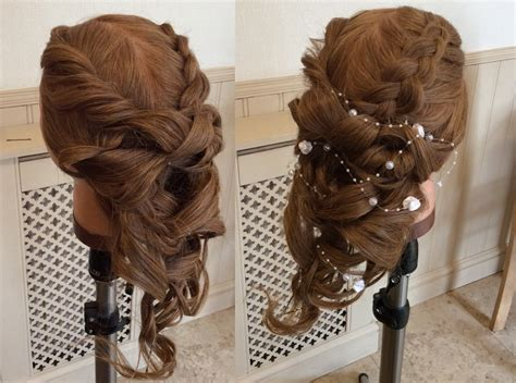 wedding boho updo hair by adam boho wedding updo tutorial salons direct