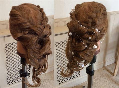 Wedding Boho Updo by Hair By Adam Boho Wedding Updo Tutorial Salons Direct