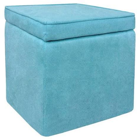 turquoise storage ottoman room essentials cube storage ottoman in turquoise