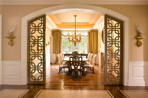 classic traditional residence traditional dining room