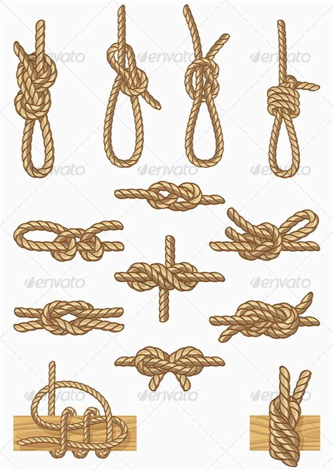boat knots designs boating knots graphicriver