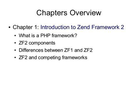 zend framework 2 layout using zend framework 2 book presentation