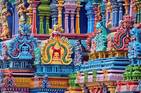 st design competition vibrant india india s meenakshi temple are an explosion of vibrant