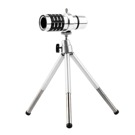 Tele Zoom Tripod new 12x zoom telephoto telescope lens mount