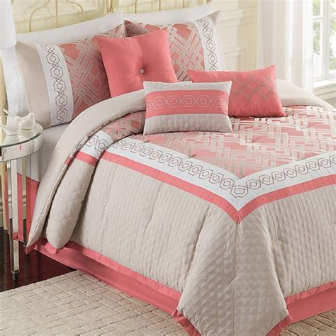 jcpenney twin comforter bella geometric 7 pc comforter set jcpenney color