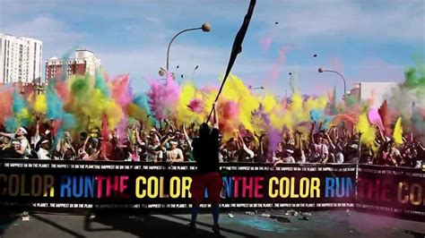 the 2013 color run las vegas brought to you by zappos