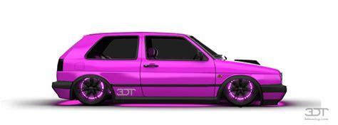 Paint At Home 3dtuning of volkswagen golf 2 gti 3 door hatchback 1990