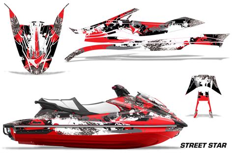 Yamaha Wave Runner Gp 1800 Graphic Kit For 2017 Models Over 40 Designs To Choose From Jet Ski Wrap Templates