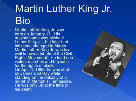 biography martin luther king martin luther king jr tribute