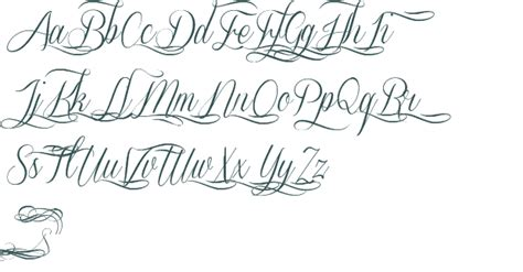 collection of 25 cursive lettering font tattoo designs
