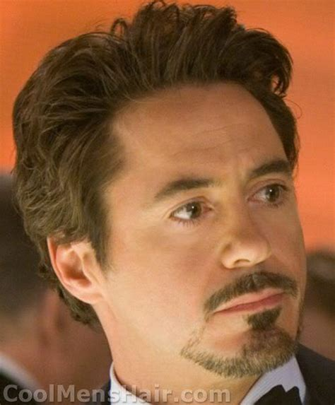 directions for the tony stark haircut the tony stark goatee how to do and maintain it cool
