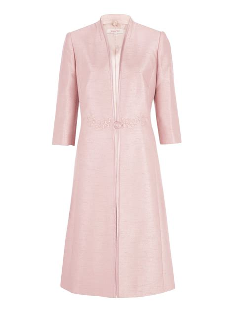 Dress Coats jacques vert iced pink dress coat in pink lyst