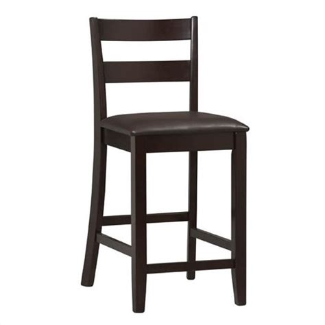 bar stools for high counter 24 quot high soho counter stool in rich espresso 01866esp 01