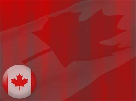 canada flag 08 powerpoint templates