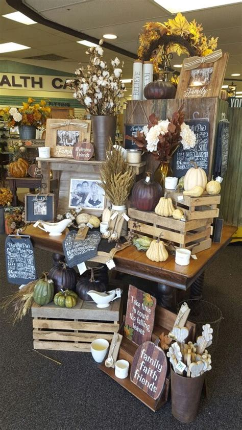 retail display ideas  furniture inspiration fall
