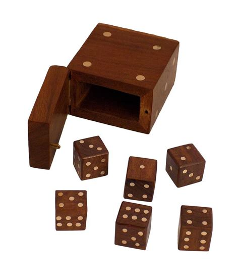 Handmade Wooden Crafts - crafts handmade wooden dice in dice set buy