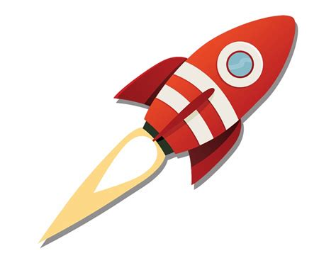 library  rocket launch cartoon clipart transparent