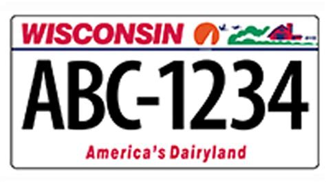 Wisconsin Vanity Plates by New Vehicle License Plates In Wisconsin Will Soon 7