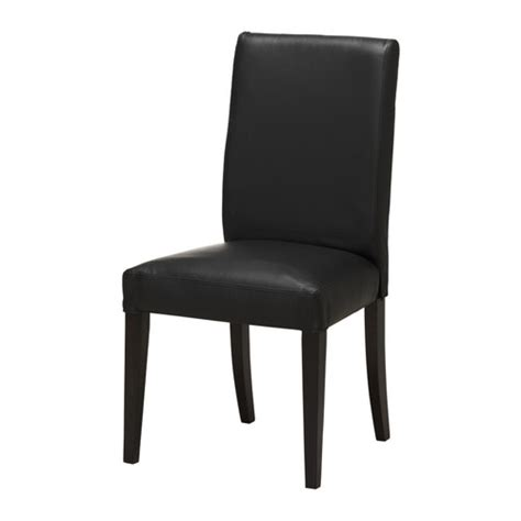 ikea black leather chair henriksdal chair ikea