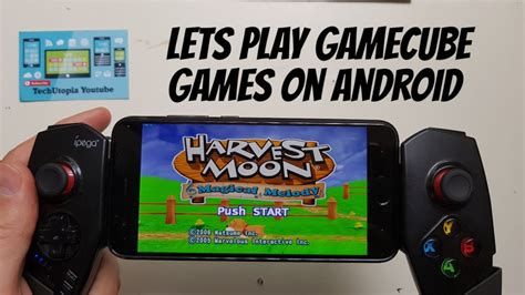 gamecube emulator for android harvest moon magical melody android gameplay with gamecube emulator dolphin 5 0 test gaming