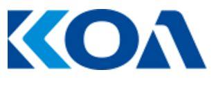 koa corp resistors sales brands 電子型錄 潤鉅實業