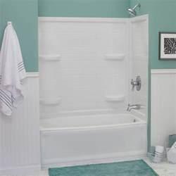 Menards Bathtub Surrounds by Lyons Contour 32 Quot X 60 Quot X 59 Quot Tile Bathtub Wall Corner