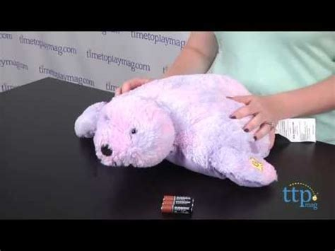 How Much Do Pillow Pets Cost by Glow Pets Shimmering Seal From Cj Products