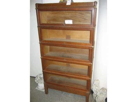 globe wernicke sectional bookcase value globe wernicke oak sectional stack bookcase five 654360