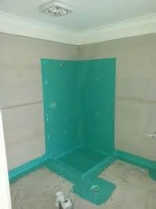 Bath And Shower Screen waterproofing