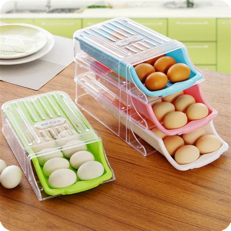Refrigerated Eggs Shelf by Refrigerator Drawer Type Egg Storage Box 2016 New Arrival Easy To Up Eggs Fresh Storage