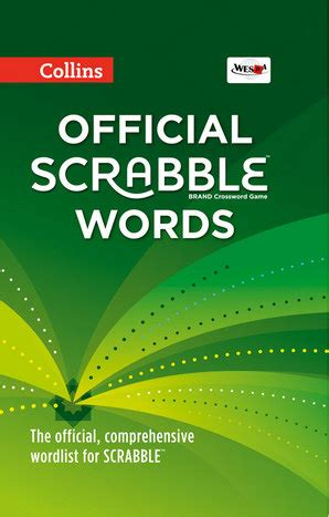 collins official scrabble word finder book details collins official scrabble words collins