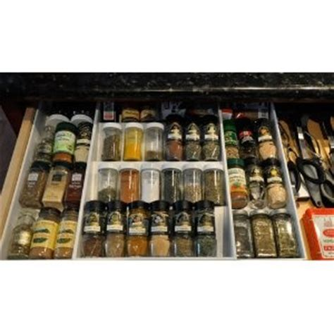 In Drawer Spice Rack by 1000 Images About Spice Racks Cabinet Drawer On