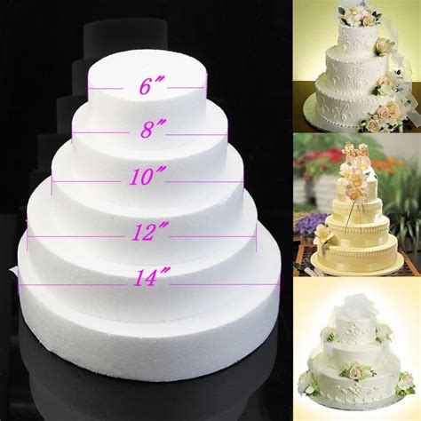 10 8 6 inch wedding cake cheap 6 8 10 12round cake dummy styrofoam