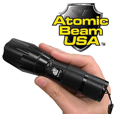 atomic beam vs tac light atomic beam ultimate tactical led flashlight by bulbhead