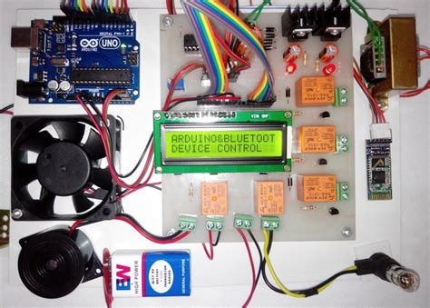 home automation using bluetooth and arduino